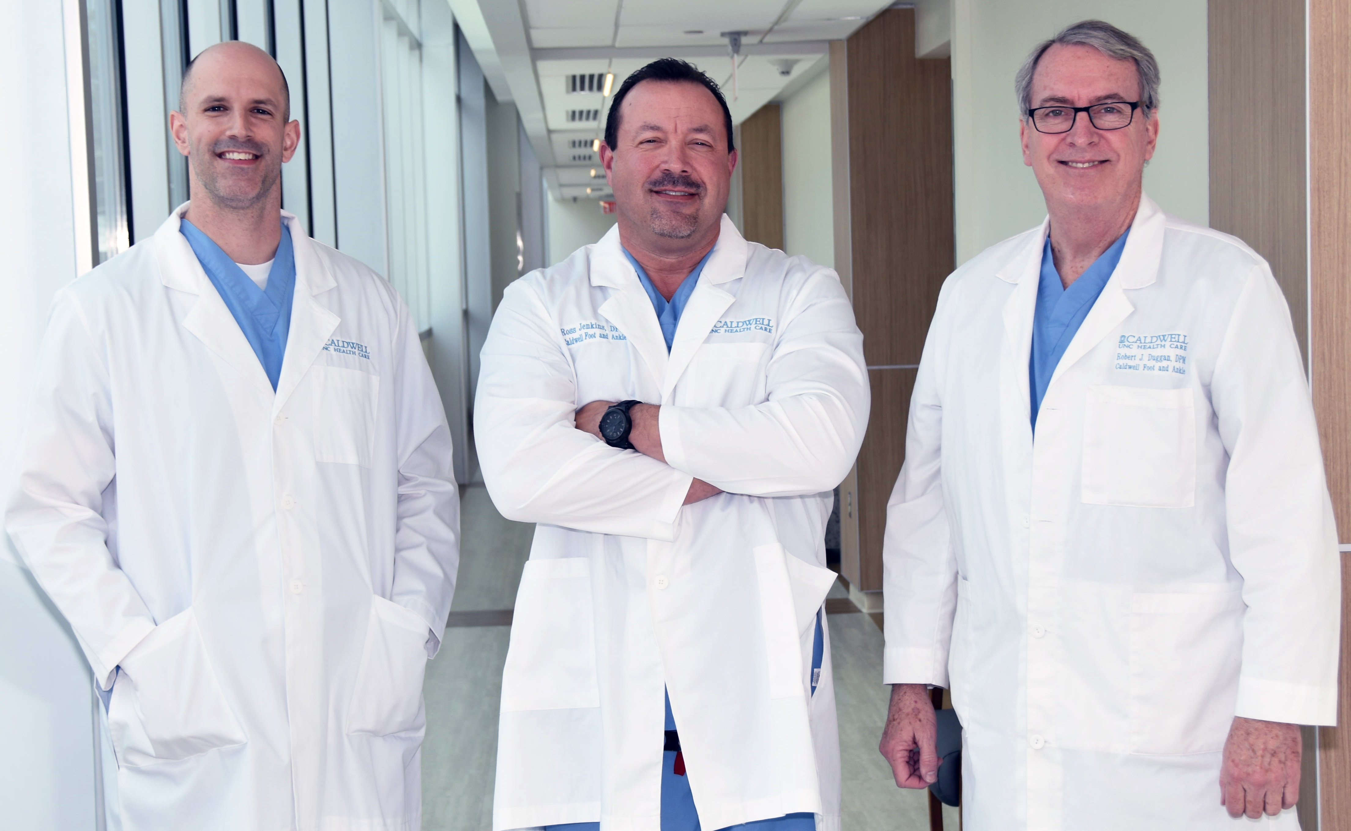 Dr.'s Justin W. Walker, Philip R. Ross, Robert J. Duggan